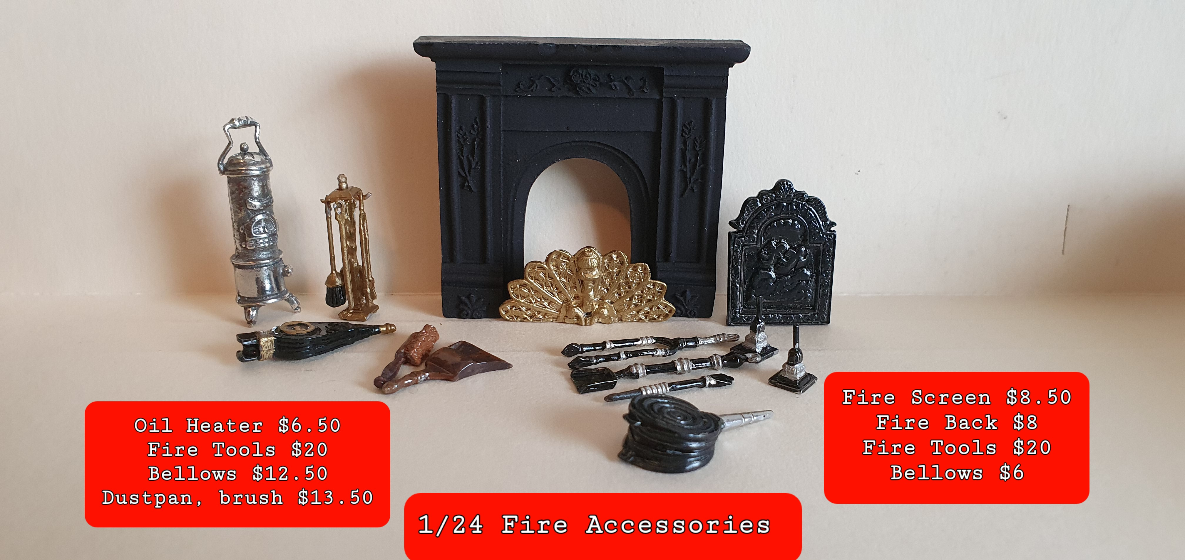 1/24 Fire Access. As Priced