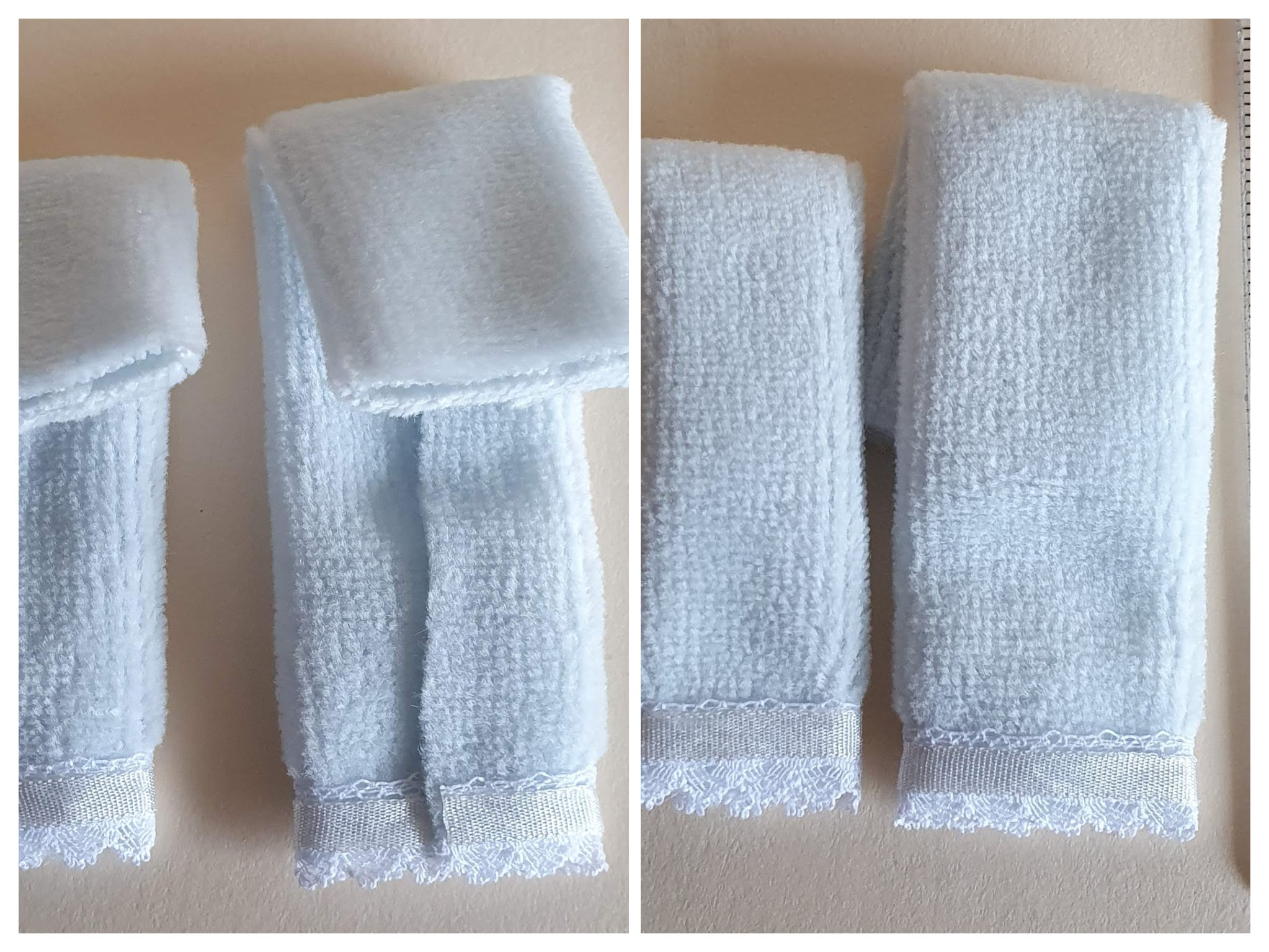 Towel Set, 2 pce, Blue, $6