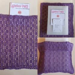 Crochet D/bd Cover, Lilac $15