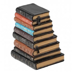 Resin Stack Of Old Books $28.50