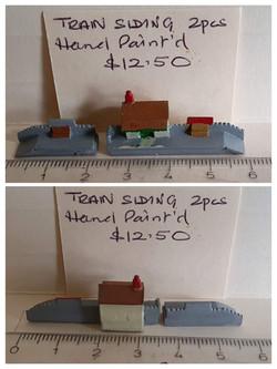 Train Siding 2 pc $12.50