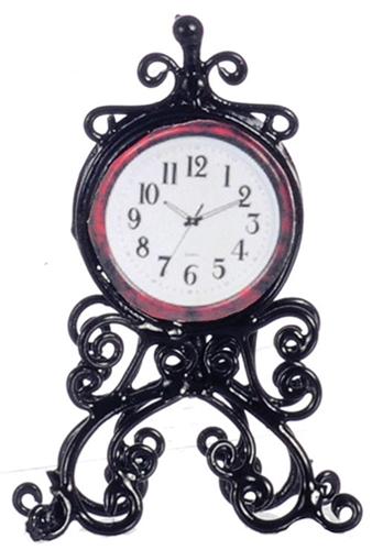 Black Mantle Clock $19.50