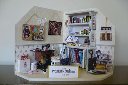 Dolls House Miniatures - Sewing Room Vignette