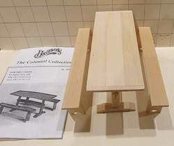 HW13106 Trestle table (kit) $25