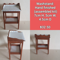 Washstand $32.50