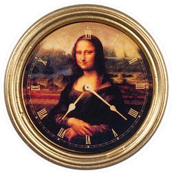 AZG7190 Mona Lisa Clock $7.50