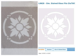 Simulated Leadlight $5 (was $7)