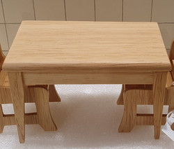 SOLD - Oak kitchen Table $9.50