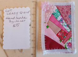 Cot Size Quilt - Pink $5