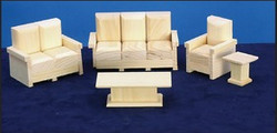 Lounge sets A & B, $16 ea set