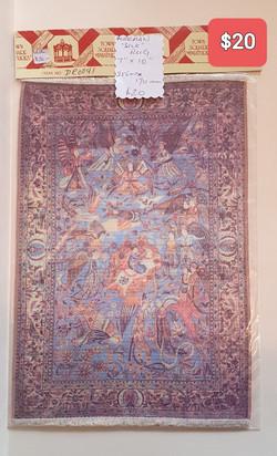 Kerman Silk Rug $20