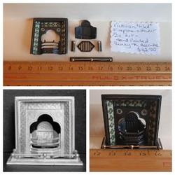 1/24 Fireplace (Kit) $42.50