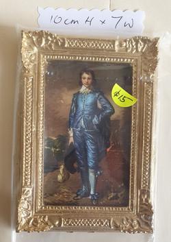 Framed: Blue Boy $15