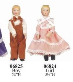 0624-5 Boy & Girl $17 pr