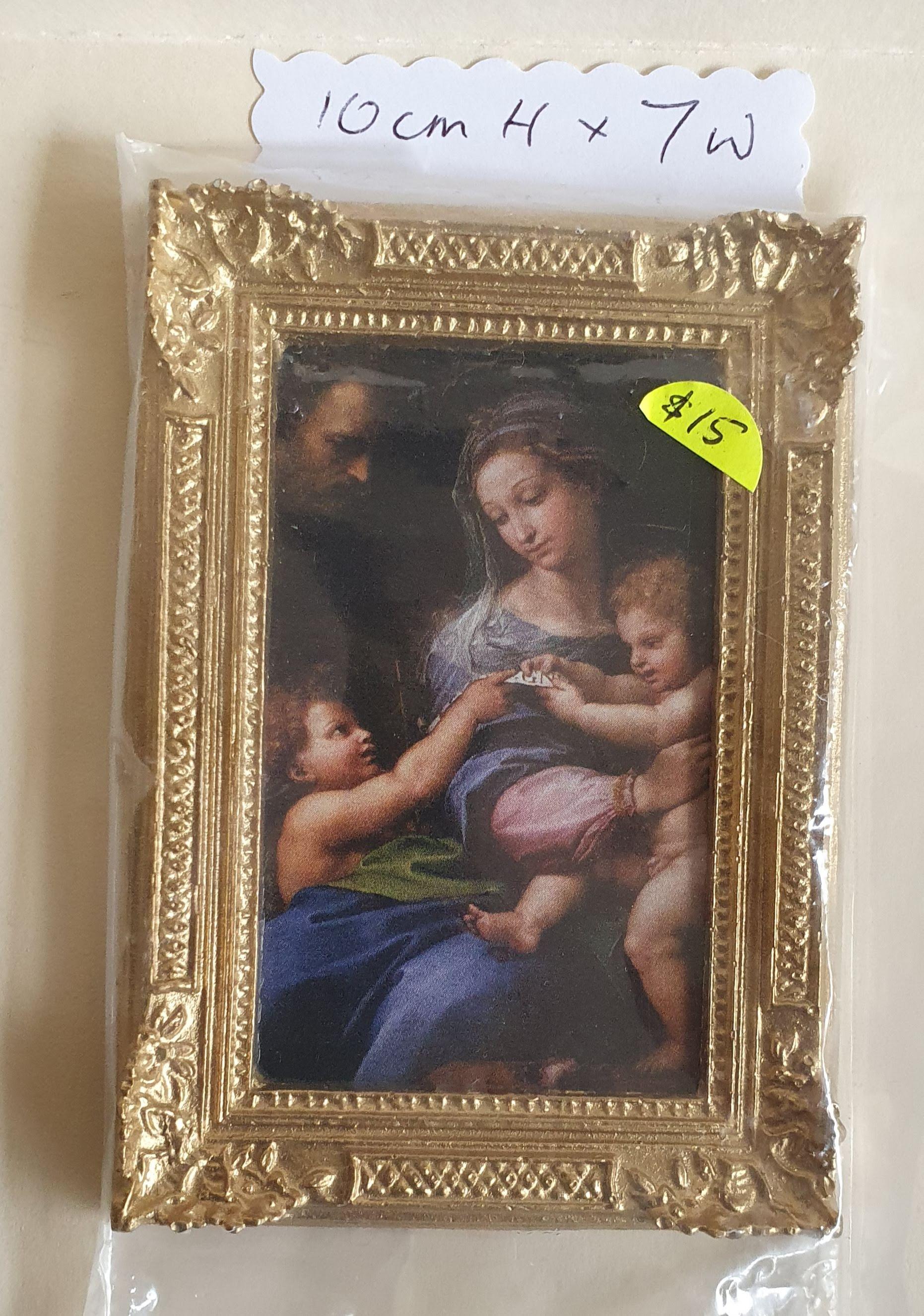 Framed: Mother & Children