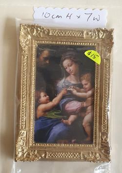 Framed: Mother & Children $15