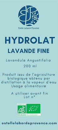 Hydrolat de lavande fine