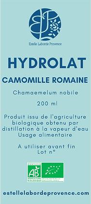 Hydrolat de camomille romaine