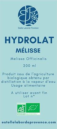 Hydrolat de mélisse
