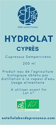 Hydrolat de cyprès de Provence