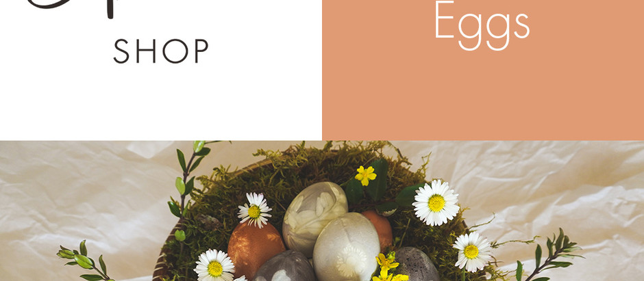 All Natural Easter Egg Coloring - Crafts for a stay at home Easter 2020