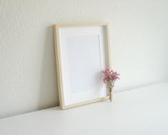 Portrait Woodern Frame Wall Decor Display