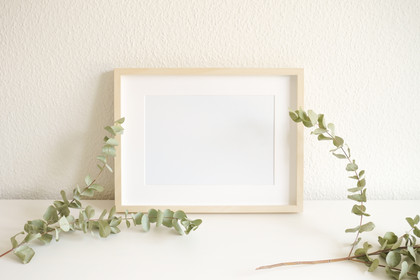 Landscape Woodern Frame Wall Decor Display