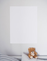 Portrait Blank Poster / Wall Art / Deco