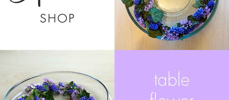 Table Flower Wreath