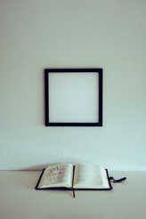 Square Blank Art Display Frame Mockup / Template
