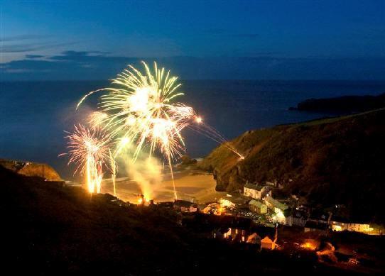 Llangrannog Fireworks