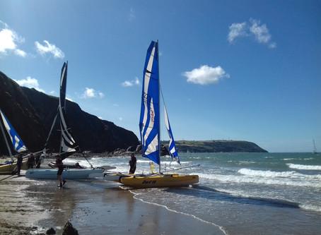 Sandcastles and Sailing Boats