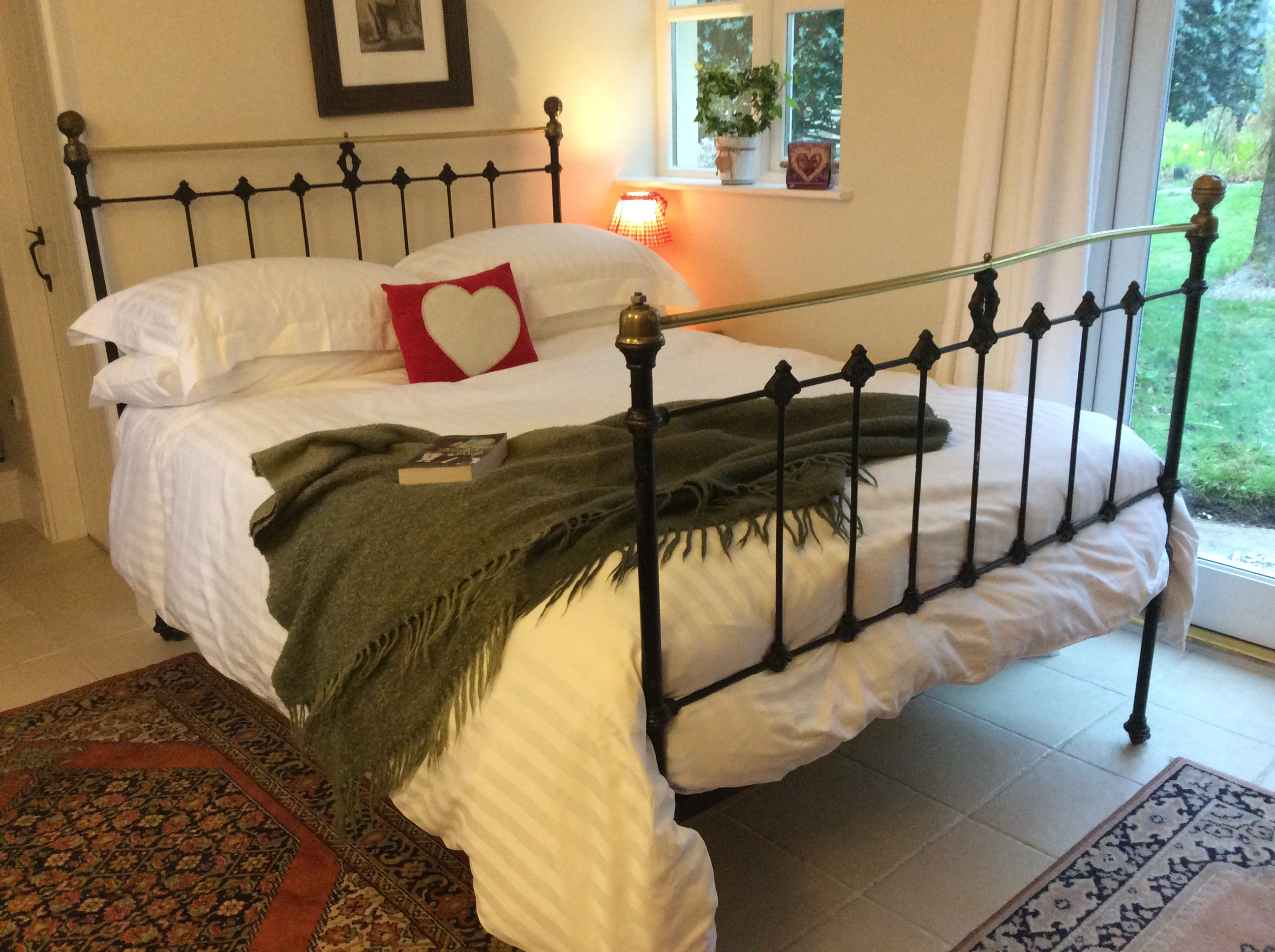 Comfy Victorian Iron Bed