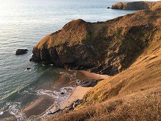 Cilborth from the coastal path