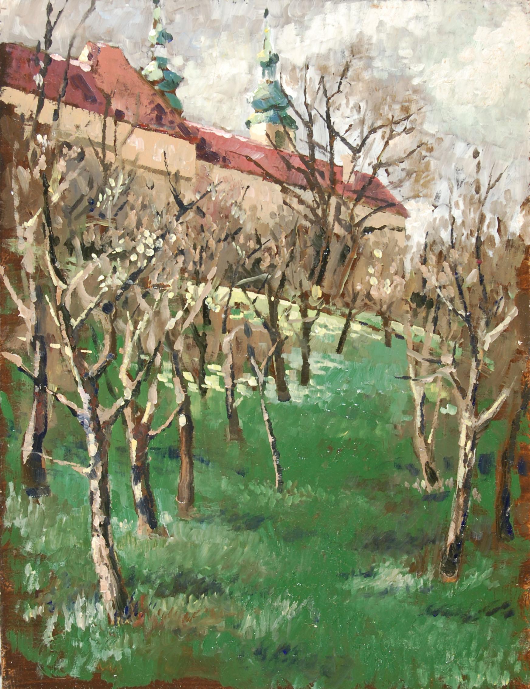 Prag Strahov-Kloster 1980