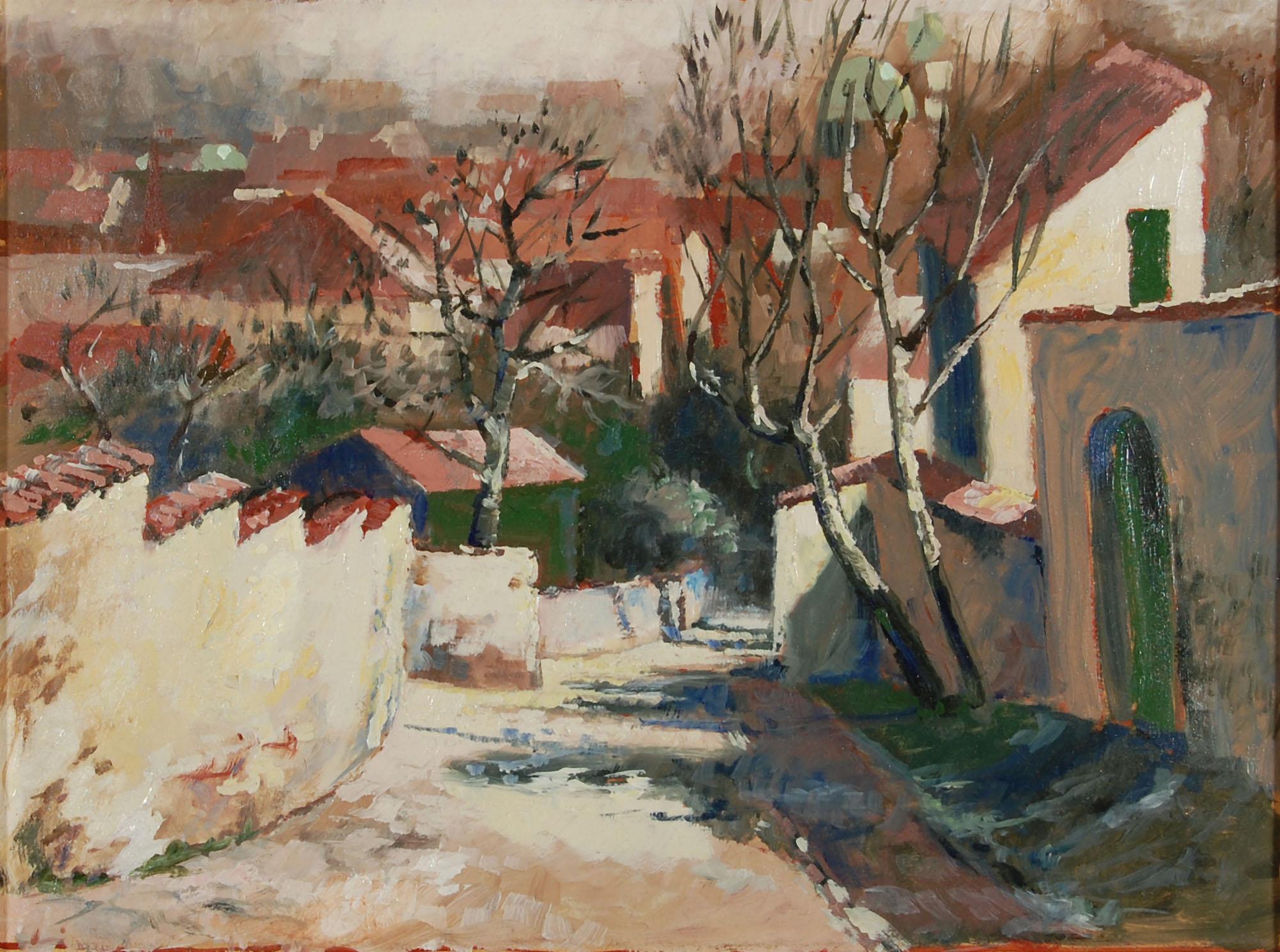 Prag Gasse auf der Kleinseite 1987
