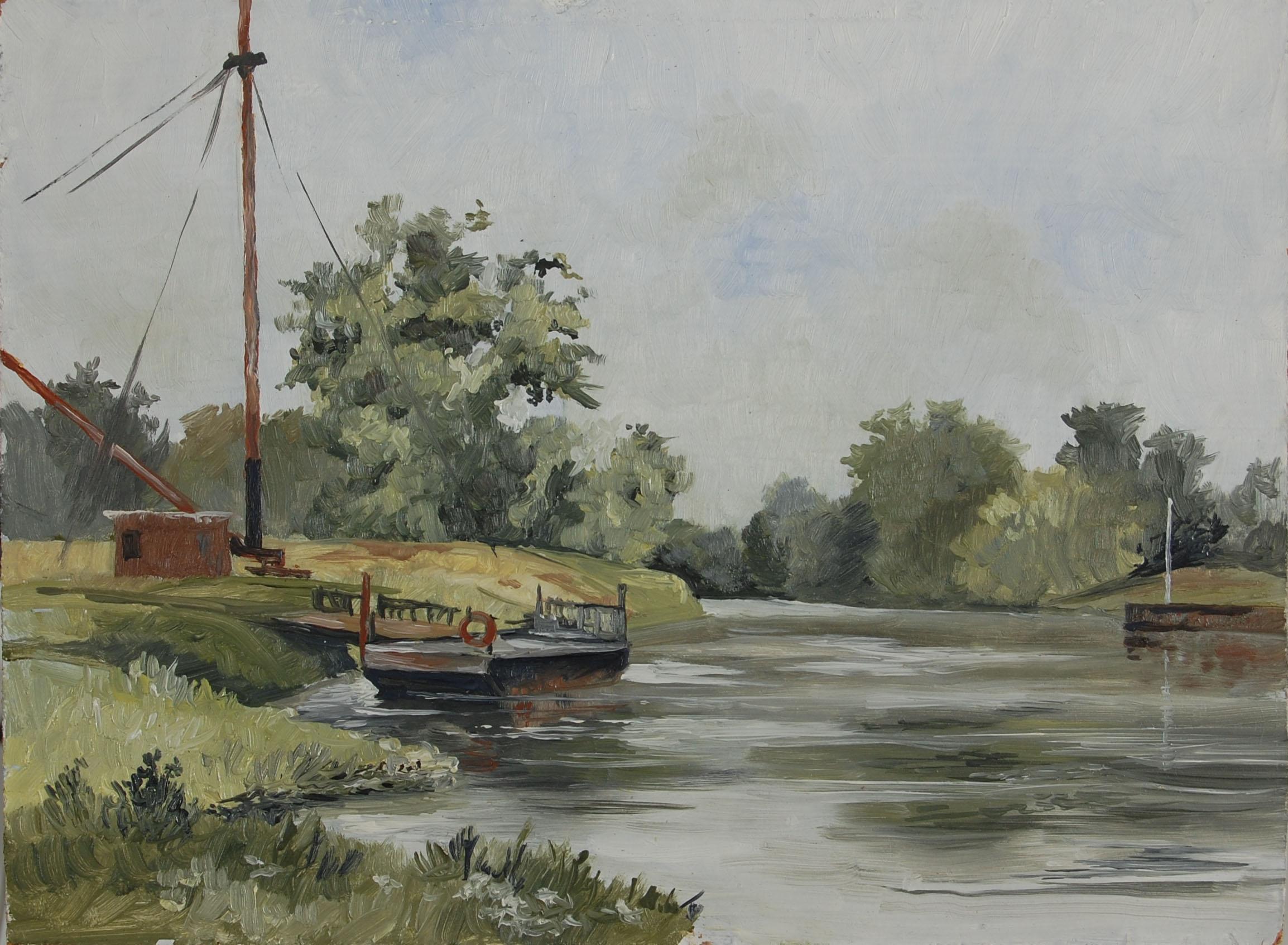 Halle Hafen 1981
