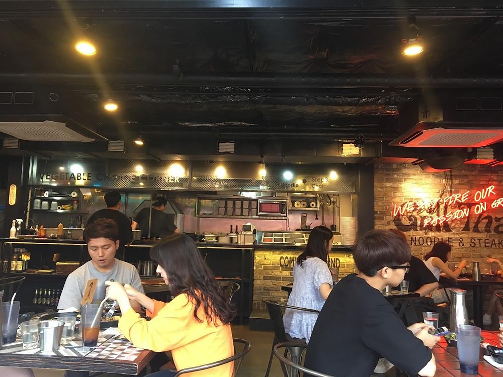 Mesas restaurante
