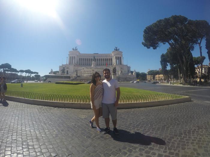 Rapidinha na Itália ( Roma - Parte 2)