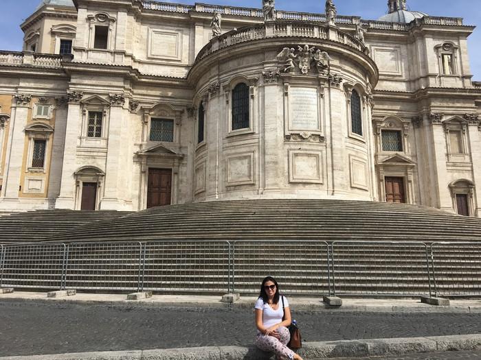 Rapidinha na Itália ( Roma - Parte 1)