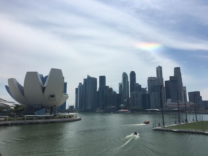 Nosso bate e volta em Singapura
