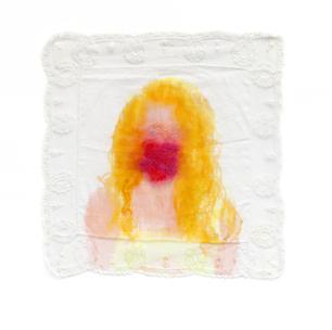 Self-portrait (Fuschia)