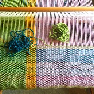 Progress shot of Color Study I