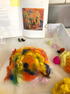 Wet-felting