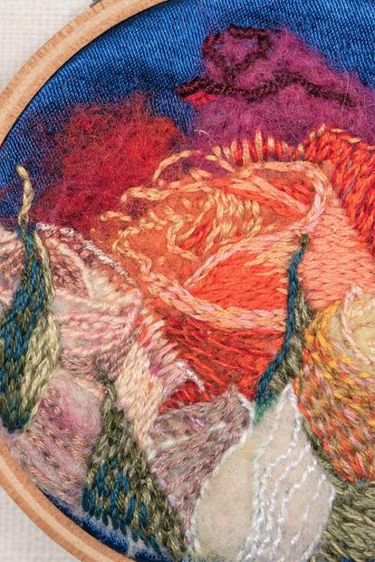Detail of Rosarium I