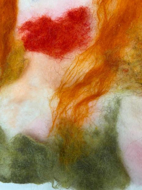 Detail of Self-portrait (Heart)