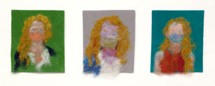 Velvet Self-Portrait series