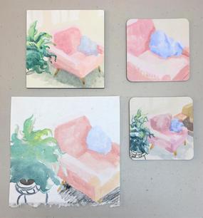 Nesting Chair studies