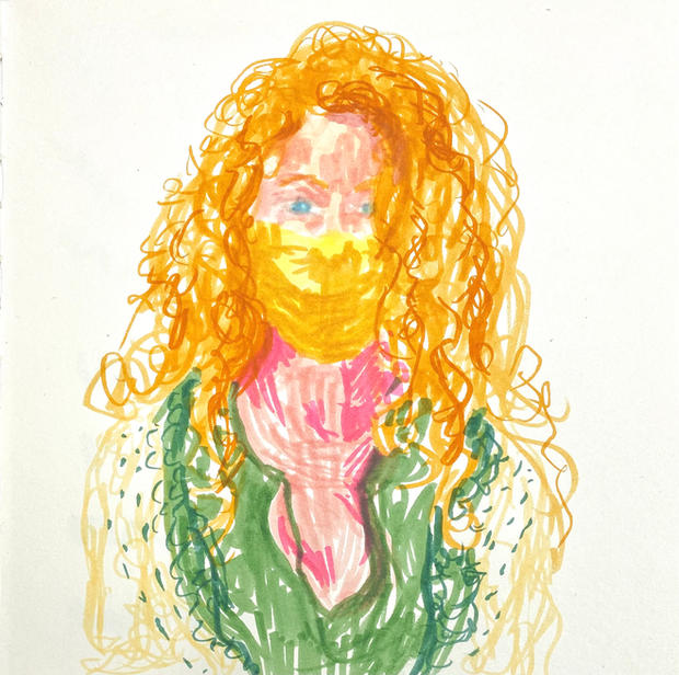 Self-portrait (Frazzled)