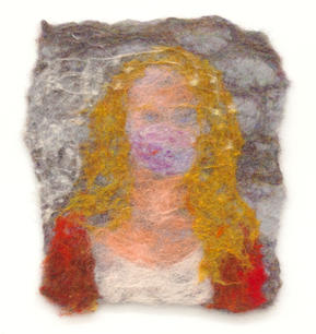 Self-portrait (Grey)